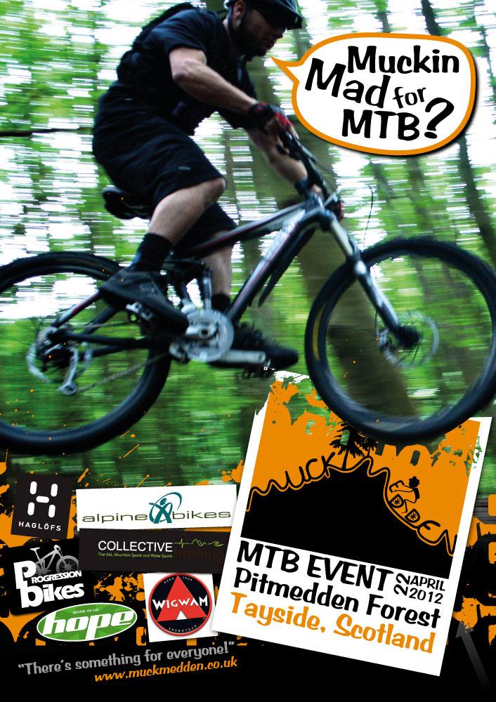Muckmedden MTB Event Flyer